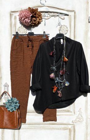 Olasz, Wendy Trendy extra szabású , kabát fekete színben:)))